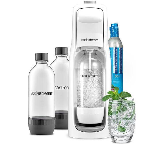 SodaStream JET WHITE + Lahev DuoPack 1l + DOPRAVA ZDARMA