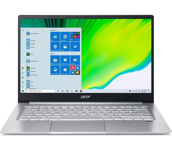 """Acer Swift 3 (SF314-59-76PT) i7-1165G7/16GB+N/A/1TB SSD+N/A/Iris Xe Graphics/14"""" FHD IPS matný/BT/W10 Home/Silver (NX.A5UEC.003)"""