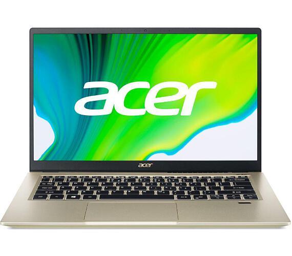 """Acer Swift 3X (SF314-510G-573B) i5-1135G7/16GB+N/A/512GB SSD+N/A/Iris Xe MAX 4GB/14"""" FHD IPS matný/BT/W10 Home/Gold (NX.A10EC.003) + DOPRAVA ZDARMA"""