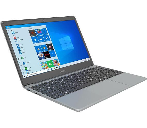 """Umax notebook VisionBook 13Wr/ 13,3"""" IPS/ 1920x1080/ N4020/ 4GB/ 64GB Flash/ mini HDMI/ USB 3.0/ USB-C/ W10 Pro/ šedý (UMM230131)"""