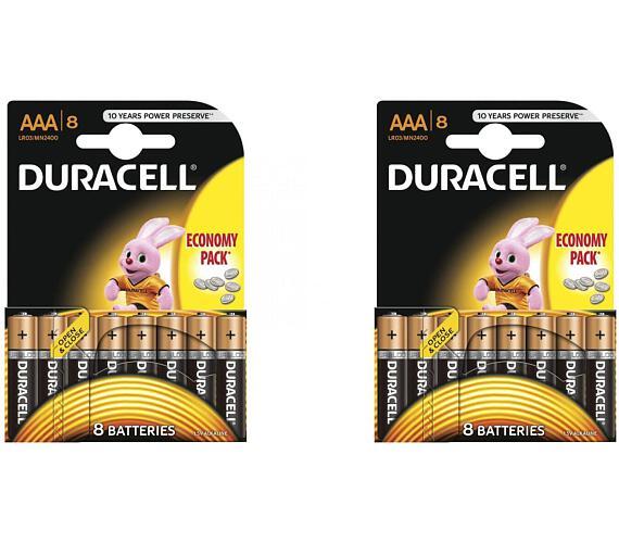 VÝHODNÝ SET 16ks AAA baterií DURACELL