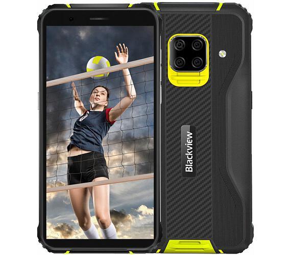 iGET Blackview GBV5100 Yellow odolný telefon