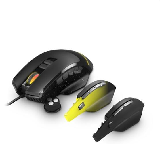 ENERGY Gaming Mouse ESG M5 Triforce (herní myš s RGB osvětlením