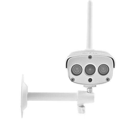 NEDIS IP kamera/ venkovní/ IP67/ Wi-Fi/ 1080p/ PIR senzor/ IR až 15 m/ LAN/ microSD/ Cloud/ Android/ iOS/ adaptér/ bílá (WIFICO030CWT) + DOPRAVA ZDARMA