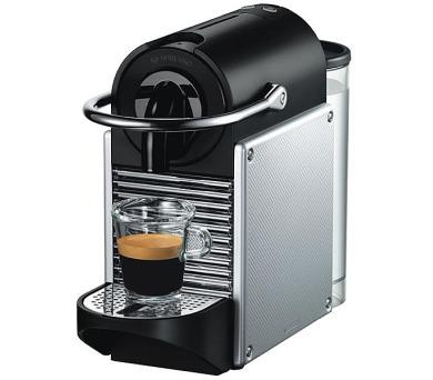 DeLonghi Nespresso EN 125 S Pixie Electric Aluminium + poukaz na kávu v hodnotě až 2.000 Kč*
