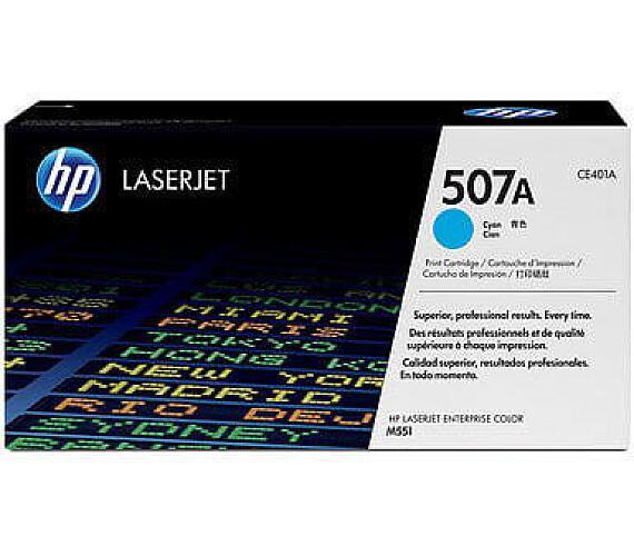 Inkoustová náplň HP CE401A