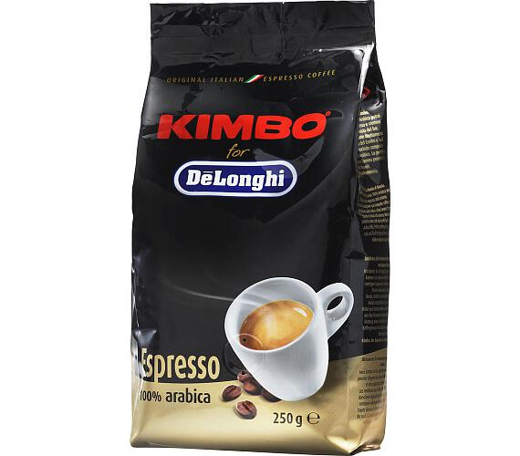 DeLonghi Kimbo 100% Arabica 250g zrnková