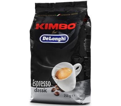 DeLonghi Kimbo Classic 250g zrnková + DOPRAVA ZDARMA