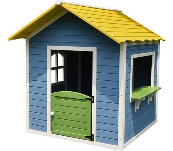 Marimex domeček dětský dřevěný Stánek + DÁREK (plastové míčky) (11640419)