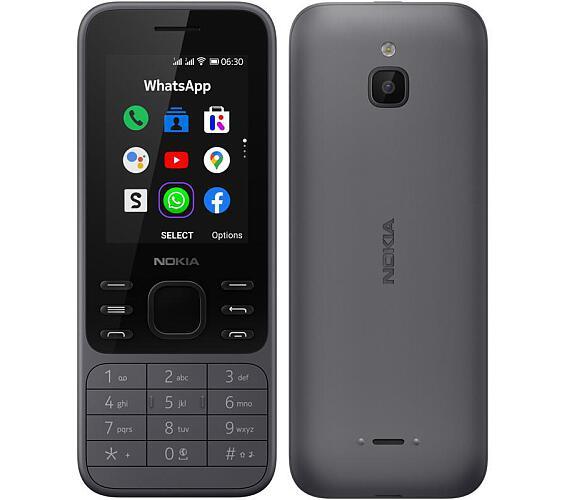Nokia 6300 4G charcoal (16LIOB01A02)