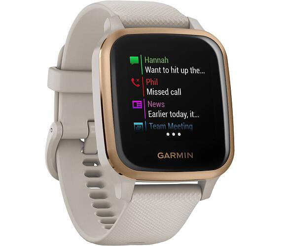 Garmin GPS elegantní sportovní hodinky Venu Sq Music