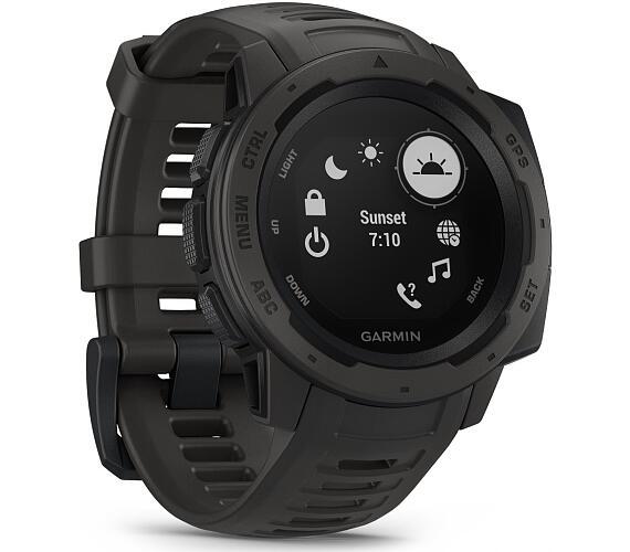Garmin chytré GPS hodinky Instinct Black Optic (010-02064-00)