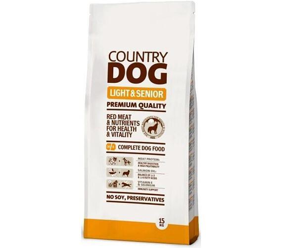 Country Dog Light Senior 15kg