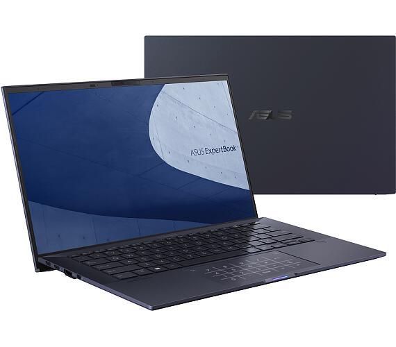 """Asus ExpertBook B9400/14""""/Core i7-1165G7 (4C/8T)/16GB/1TB SSD/FPR/TPM/W10PRO/Black/2Y Pickup&Return (B9400CEA-KC0290R) + DOPRAVA ZDARMA"""