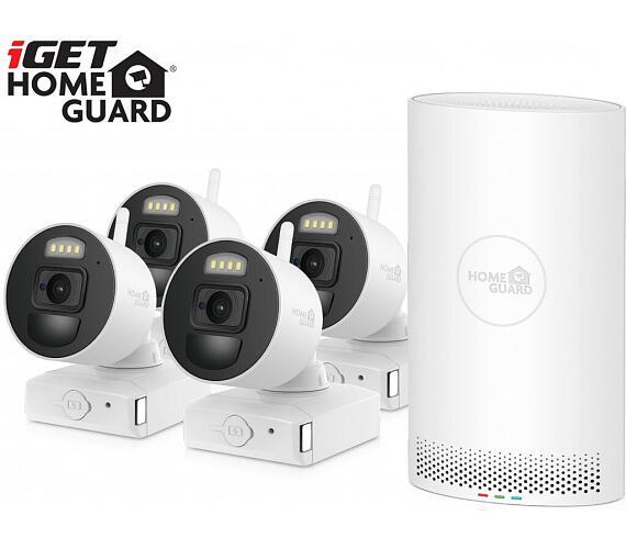 iGET HOMEGUARD HGNVK88004P - Kamerový systém s FullHD bateriovými kamerami + DOPRAVA ZDARMA