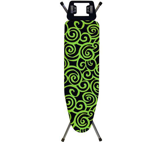 Rolser žehlící prkno K-UNO Spiral 115 x 35 cm - zelené + DOPRAVA ZDARMA