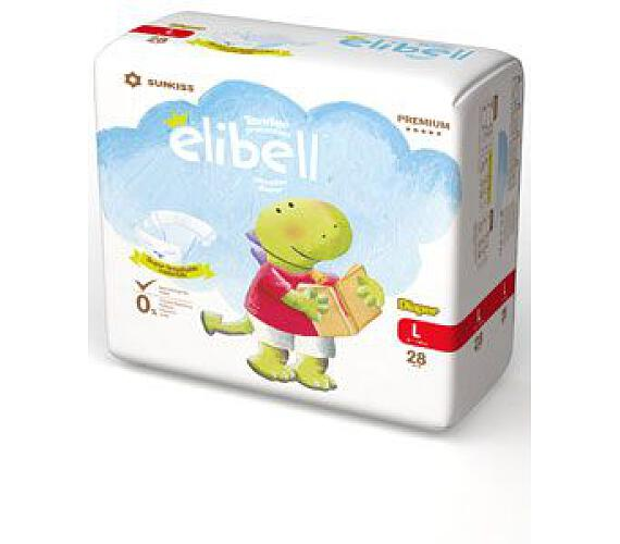 Plenky dětské Elibell L 9-14kg 28ks
