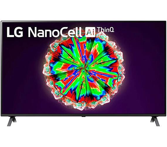 """LG SMART LED TV 49""""/ 49NANO80/ 4K Ultra HD 3840x2160/ DVB-T2/S2/C/ H.265/HEVC/ 4xHDMI/ 2xUSB/ Wi-Fi/ LAN/ G (49NANO803NA)"""