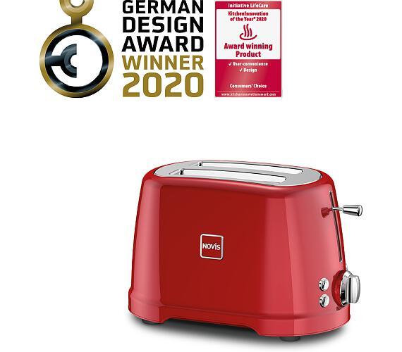Novis Toaster T2 (červený)