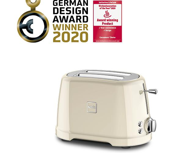 Novis Toaster T2 (krémový)