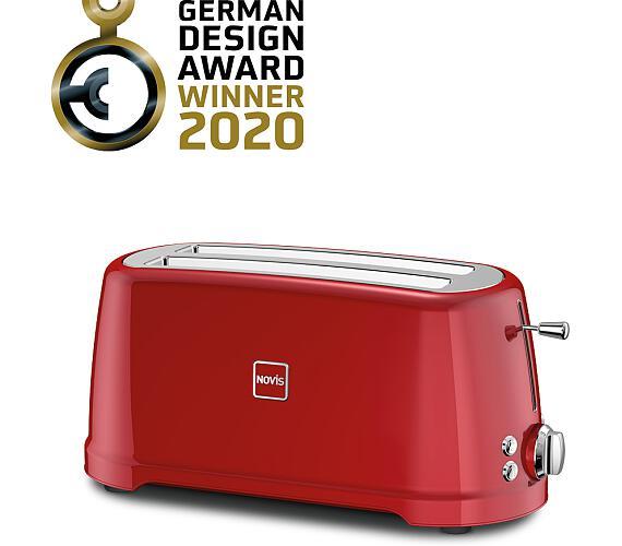 Novis Toaster T4 (červený)