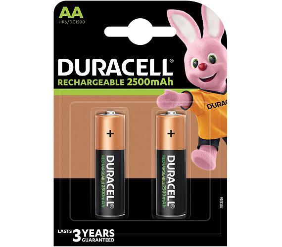 DURACELL - Nabíjecí AA 2500mAh 2 ks (42401)