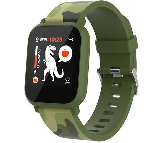 Canyon smart hodinky My Dino KW-33 GREEN/CAMO (CNE-KW33GB) + DOPRAVA ZDARMA