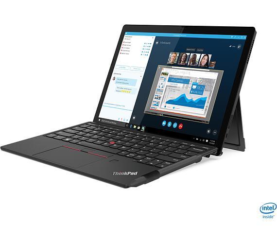 "Lenovo ThinkPad X12 Detachable i7-1160G7/16GB/1TB SSD/Integrated/12.3"" FHD MultiTouch 400 nits/4G/Win10vPRO/Black (20UW000ECK)"