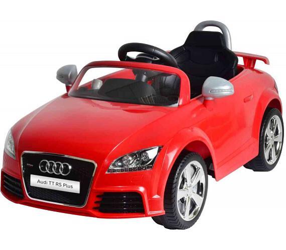 Elektrické auto Audi TT RS Plus červené + DOPRAVA ZDARMA
