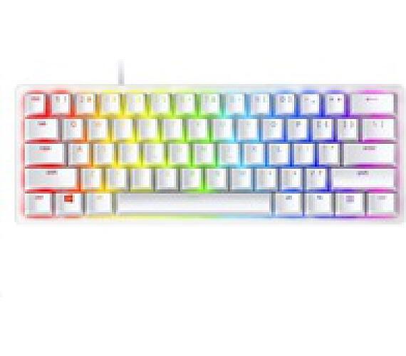 Razer klávesnice Huntsman Mini - Mercury Ed. (Purple Switch) - US Layout (RZ03-03390300-R3M1) + DOPRAVA ZDARMA