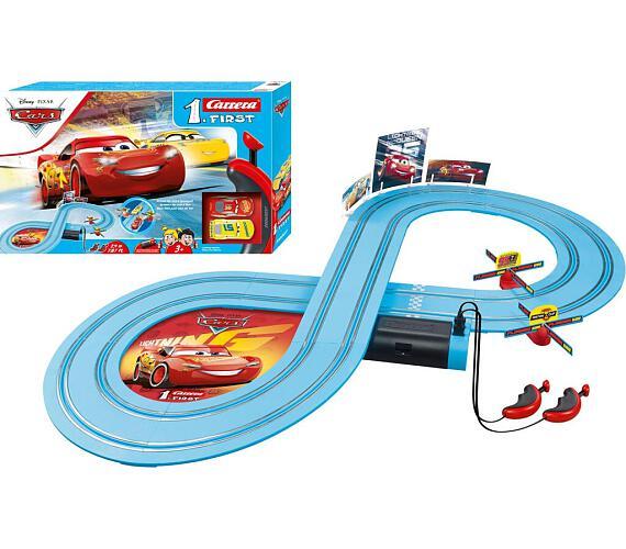 Autodráha Carrera FIRST - 63037 CARS Friends Race