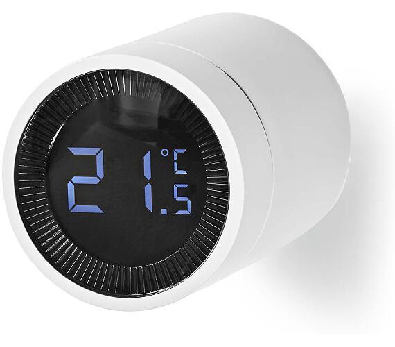 NEDIS chytré ovládání radiátorů/ ZigBee/ bílé (ZBHTR10WT) + DOPRAVA ZDARMA