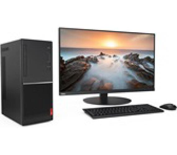 Lenovo PC V55t-15API - Ryzen 3 3200G@3.6GHz,4GB,1TB HDD,DVD-RW,Vega 8 Graphics,HDMI,VGA,kl.+mys,bez OS,1r on-site (11CC0000MC)