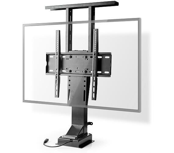 """Motorizovaný TV Stojan   42 - 65 """"   50 kg   Provedení do skříně   Rozsah zdvihu: 68.0 - 158.0 cm   Dálkově ovládané   Ocel   Černá + DOPRAVA ZDARMA"""