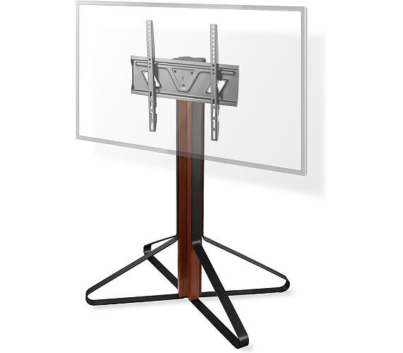 """Podlahový TV Stojan / 43 - 65 """" / Maximální podporovaná hmotnost obrazovky: 35 kg / Provedení Vaststaand / Hliník / Ocel / Černá + DOPRAVA ZDARMA"""