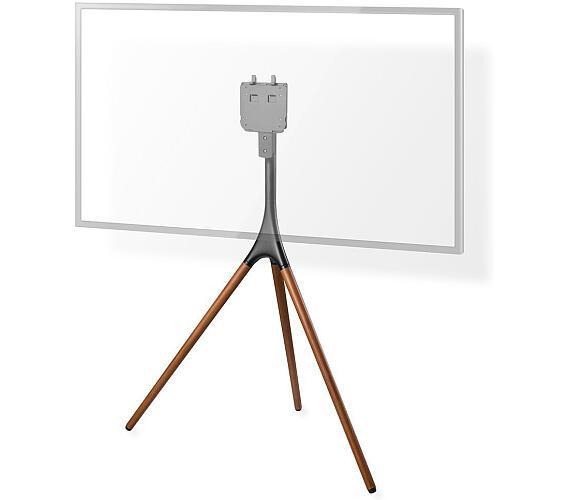 """Podlahový TV Stojan   55 - 65 """"   30 kg   Skandinávské Provedení   Vhodné pro Samsung Q-LED   Protiskluzový popruh   Hliník / Ocel   Černá + DOPRAVA ZDARMA"""