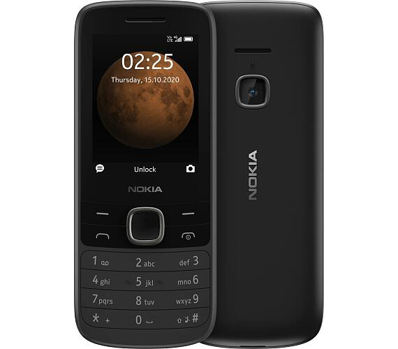 Nokia 225 4G Dual Sim Black (16QENB01A08)
