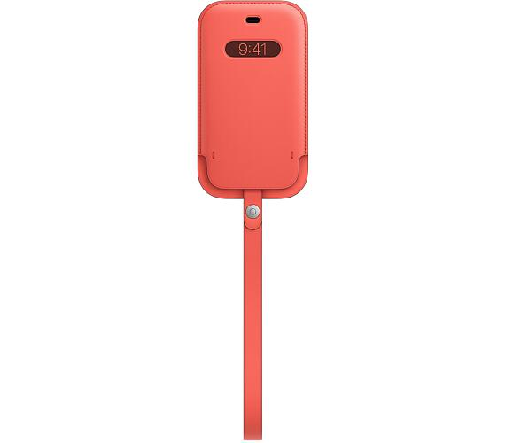 iPhone 12 mini Leather Sleeve wth MagSafe P.Citrus (MHMN3ZM/A)