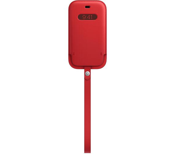 iPhone 12 mini Leather Sleeve wth MagSafe RED (MHMR3ZM/A)