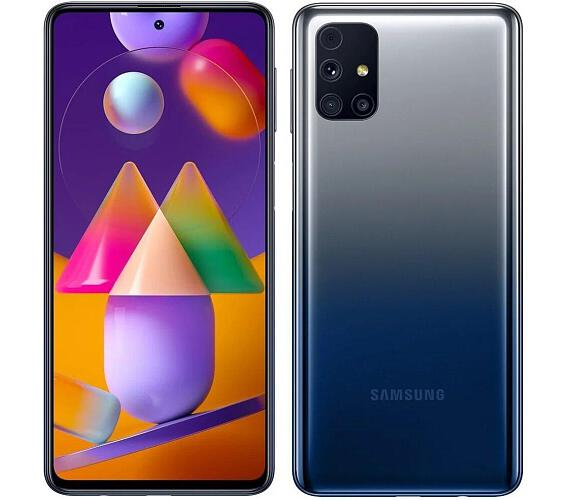 "Samsung Galaxy M31s - modrý 6,5"" AMOLED/ DualSIM/ 128GB/ 6GB RAM/ LTE/ Android 10 (SM-M317FZBNEUE)"