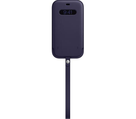 iPhone 12ProMax Leather Sleeve w MagSafe D.Violet (MK0D3ZM/A)