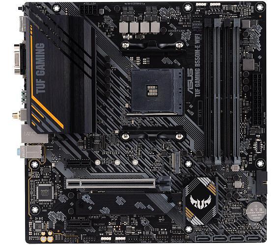Asus TUF GAMING B550M-E WIFI soc.AM4 B550 DDR4 mATX M.2 D-Sub HDMI DP WF BT (90MB17T0-M0EAY0) + DOPRAVA ZDARMA