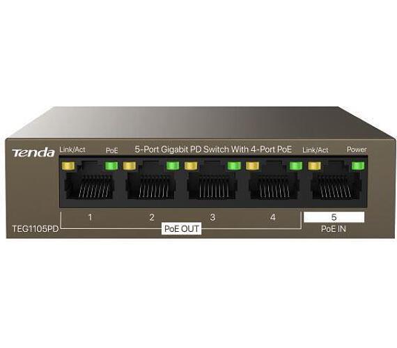 Tenda TEG1105PD PoE PD Gigabit switch
