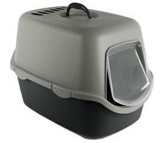 WC kočka CATHY kryté s filtrem z recykl. plastu Zolux