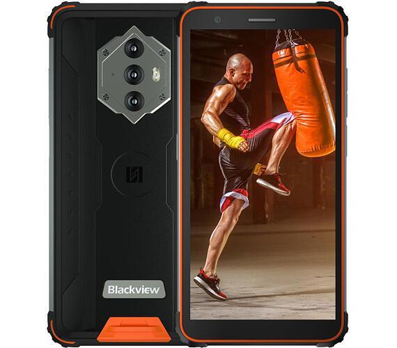 iGET Blackview GBV6600 Orange odolný telefon