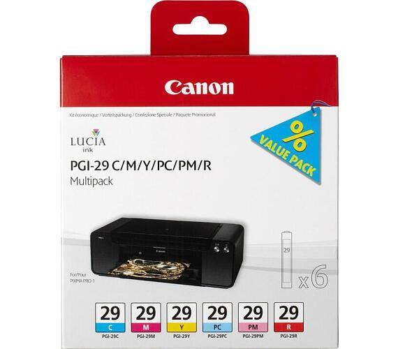 Canon PGI-29 CMY originální - červená/modrá/žlutá