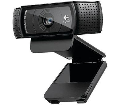 Logitech HD Webcam C920 Pro - eerná