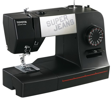Toyota Super Jeans J15 černý