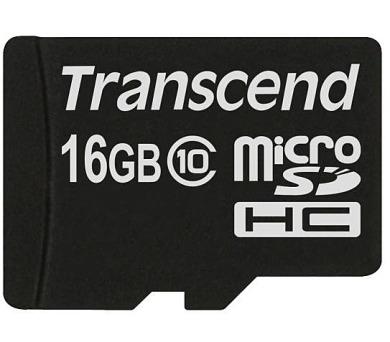 Transcend MicroSDHC 16GB Class10