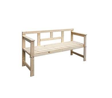Zahradní lavice VTP 37LAV01 dřevěná